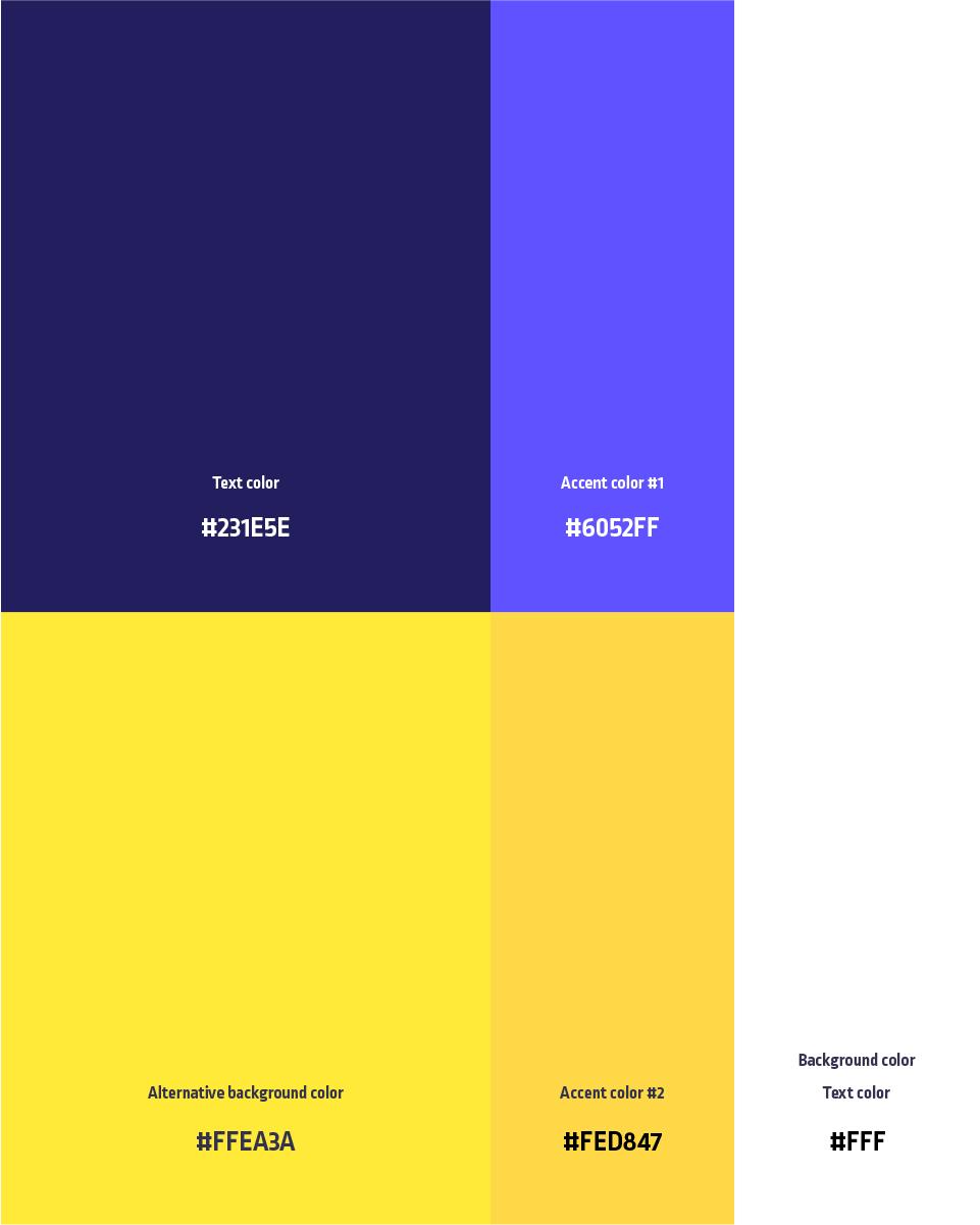 Huisstijl: kleur gebruik